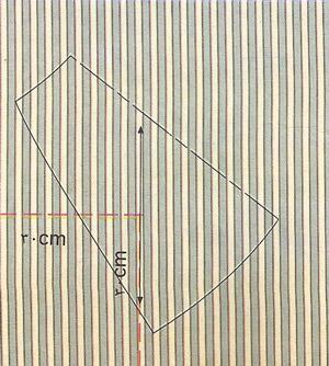 پارچههای راه راه با خطوط ترسیمی در یک جهت 3