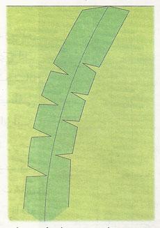 درز منحنی دو طرفه