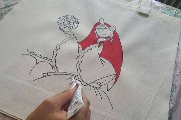 انواع نقاشی روی پارچه