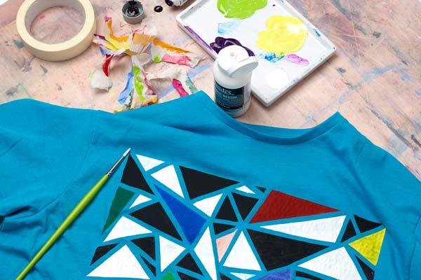 کلاس نقاشی روی پارچه