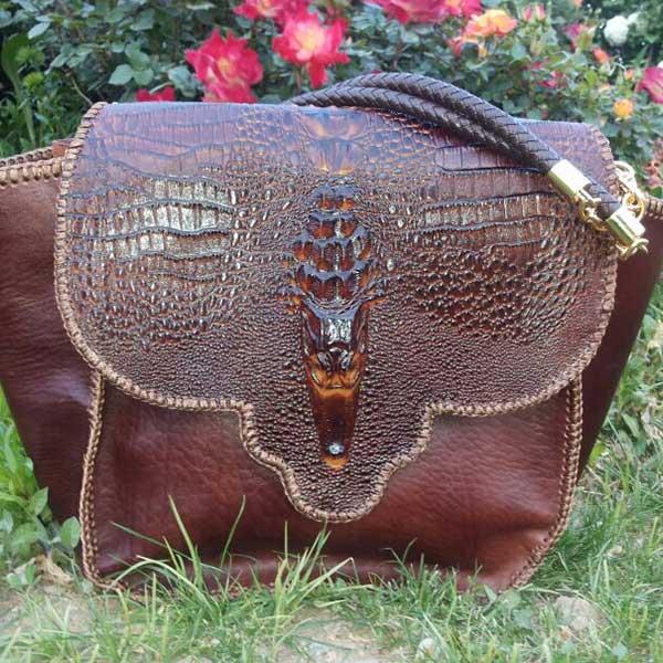 آموزش دوخت کیف چرم