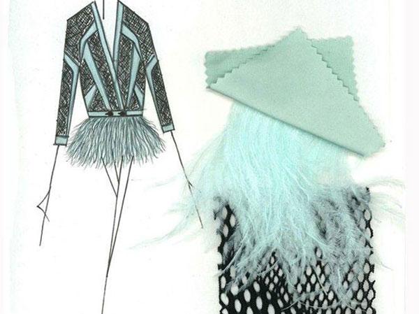 آموزش طراحی لباس با روش منتاژ