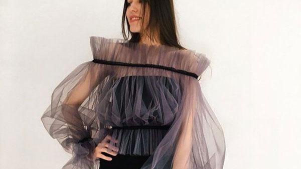 مدل لباس مجلسی یقه دلبری