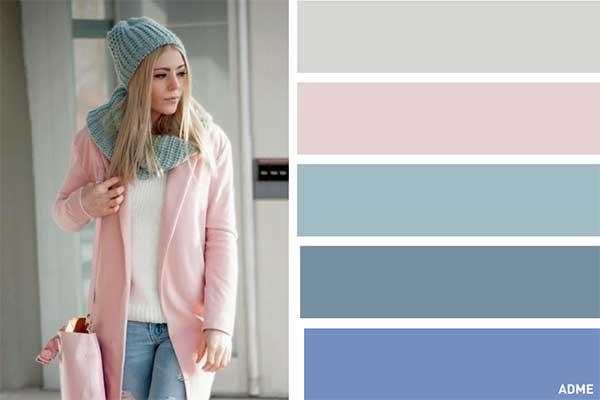 بهترین روش های ترکیب رنگ در لباس زنانه