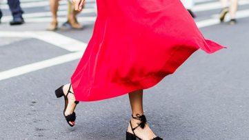 با لباس قرمز چه کفشی بپوشیم