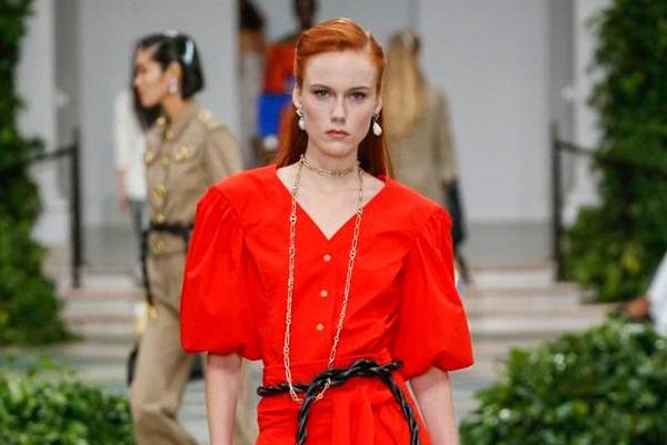 لباس قرمز ترند سال 2020