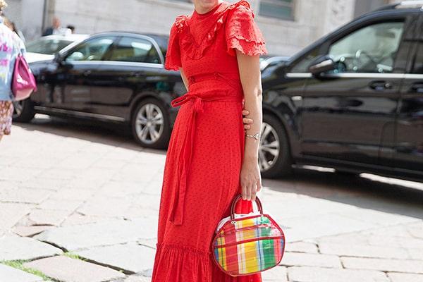 بهترین نکات برای پوشیدن لباس قرمز