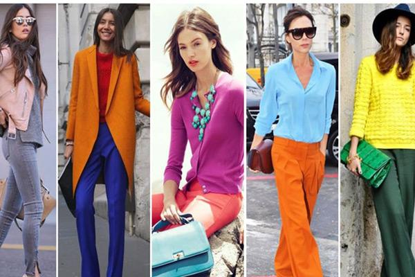 شناخت رنگ های مکمل در ست کردن لباس
