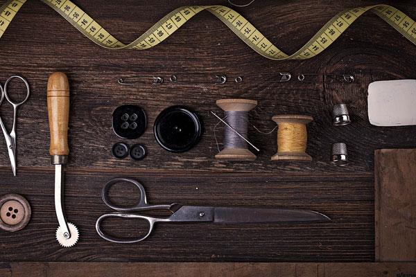 مه ترین ابزار برای خیاطی حرفه ای