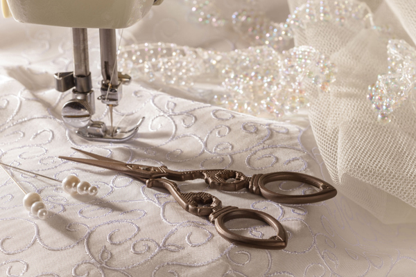یادگیری دوخت لباس شب و لباس عروس
